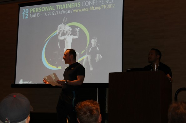 The 2012 NSCA Personal Trainer's Conference: Vegas, Baby