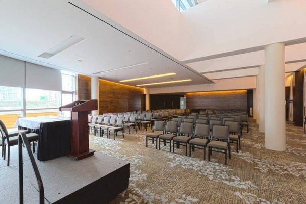 toronto lecture stage