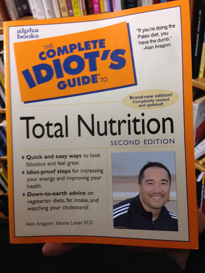 idiot's guide to nutrition